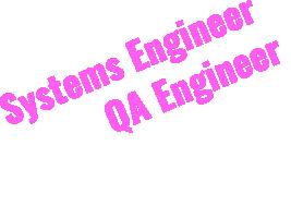 システムエンジニア・QAエンジニア